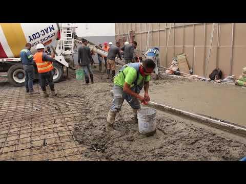 Como hacer un piso de concreto pulido de alta resistencia para naves industriales