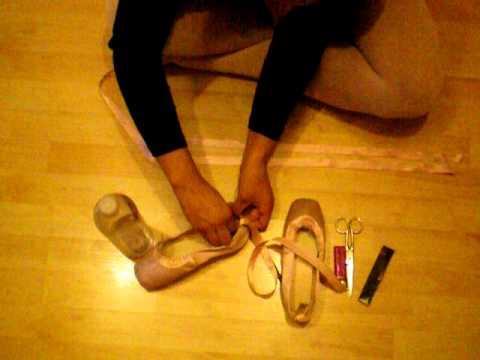 Ritual puntas de ballet