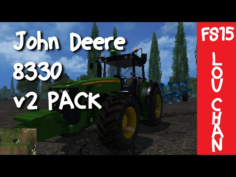 John Deere 8330 Pack Fixed V2