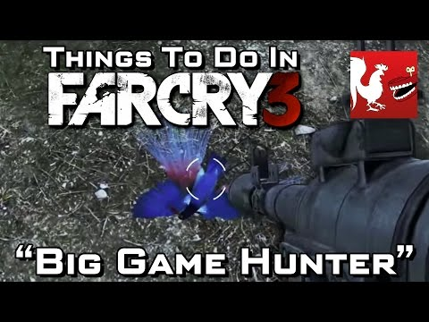 big 3 - Geoff and Ray start the year off by blowing up every animal they see.