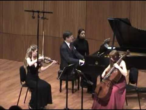 Parnas/Serkin Trio - Schubert Trio Bb Major, i. Allegro Moderato