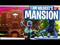 I AM WILDCAT's New Fortnite Mansion - Fortnite Funny Moments n Fails