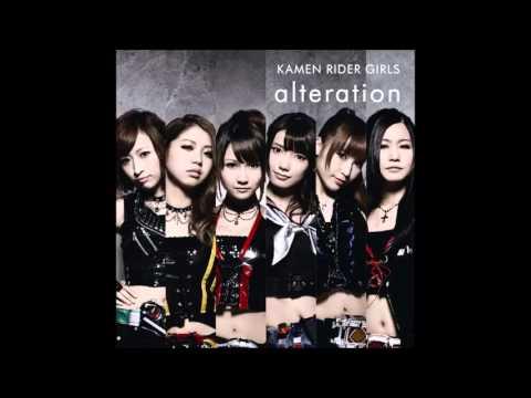 Kamen Rider Girls - Accelerate to the Eternal (видео)