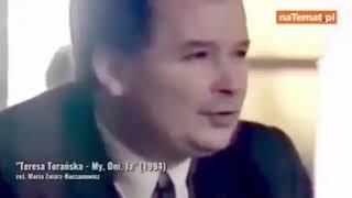 Jaroslaw Kaczyński zapytany w 1994 roku kim chcialby byc?
