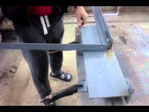 Как сделать гибочный станок своими руками