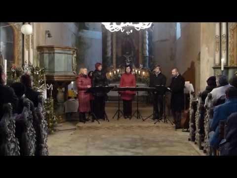 Singtet - Singtet na benefičním koncertu v kostele sv. Václava II.
