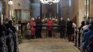 Video Singtet na benefičním koncertu v kostele sv. Václava II.