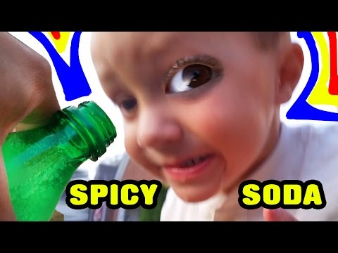 drinks - We have to be honest, this was Chase's 3rd time trying soda, but the first time was just two days before this was recorded. His face was much funnier the first time around but at least it's...