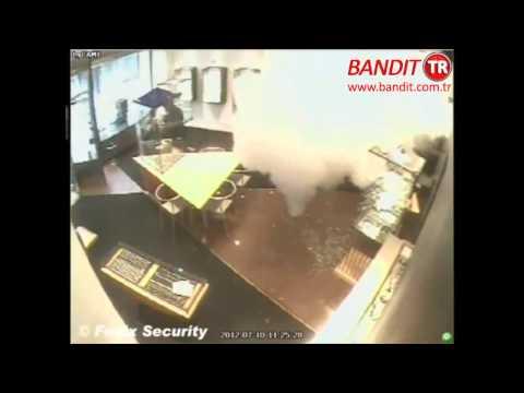 Bandit Güvenlik Sistemleri - Hırsızlık Girişimi