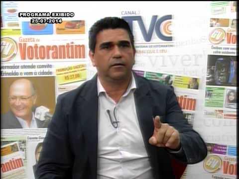 Debate dos Fatos na TV Votorantim 25 07 14