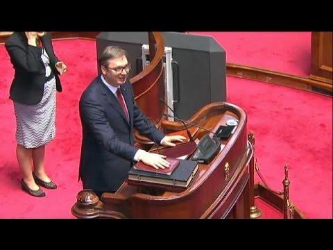 Σερβία: Ορκίστηκε πρόεδρος ο Αλεξάντερ Βούτσιτς