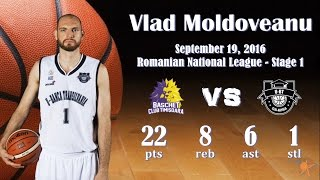 2016.09.19 Vlad Moldoveanu at BC Timisoara