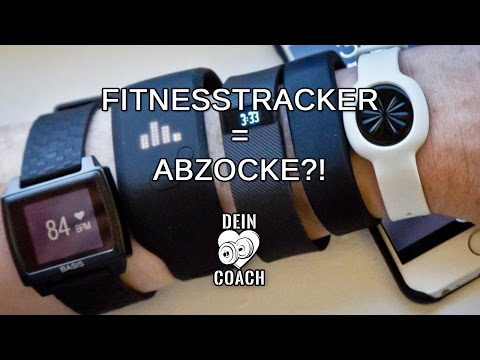 FITNESSTRACKER ABZOCKE!? Fitbit, Apple-Watch, Garmin & Co | Test & Praxis