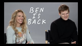 BEN IS BACK: Julia Roberts and Lucas Hedges Interview