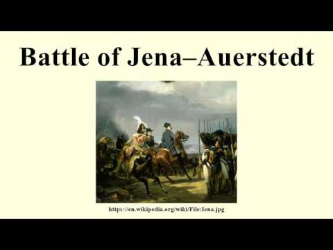 Battle of Jena–Auerstedt