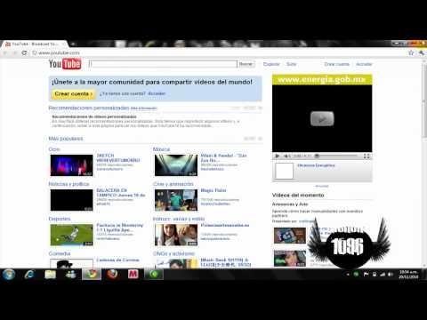 Video 2 de Google Chrome 11.0.696.71: Cómo cambiar la página de inicio de Google Chrome