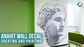 Creating and Printing of Vinyl Wall Decal