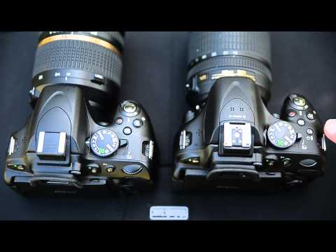 Nikon D5200 hands on review (vs D5100)