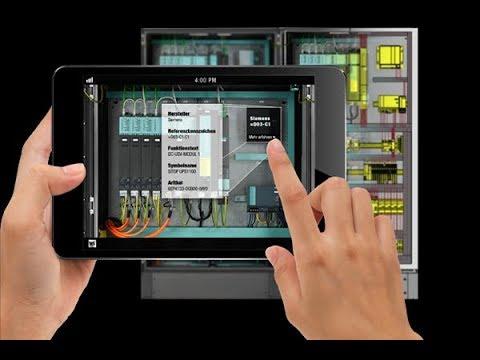 L'appli gratuite WSCAD Augmented Reality facilite la maintenance