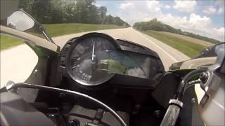 9. 2013 Kawasaki ZX6R 636 Top Speed/Acceleration (MPH) M4 GP Slip on Exhaust *GoPro HD*