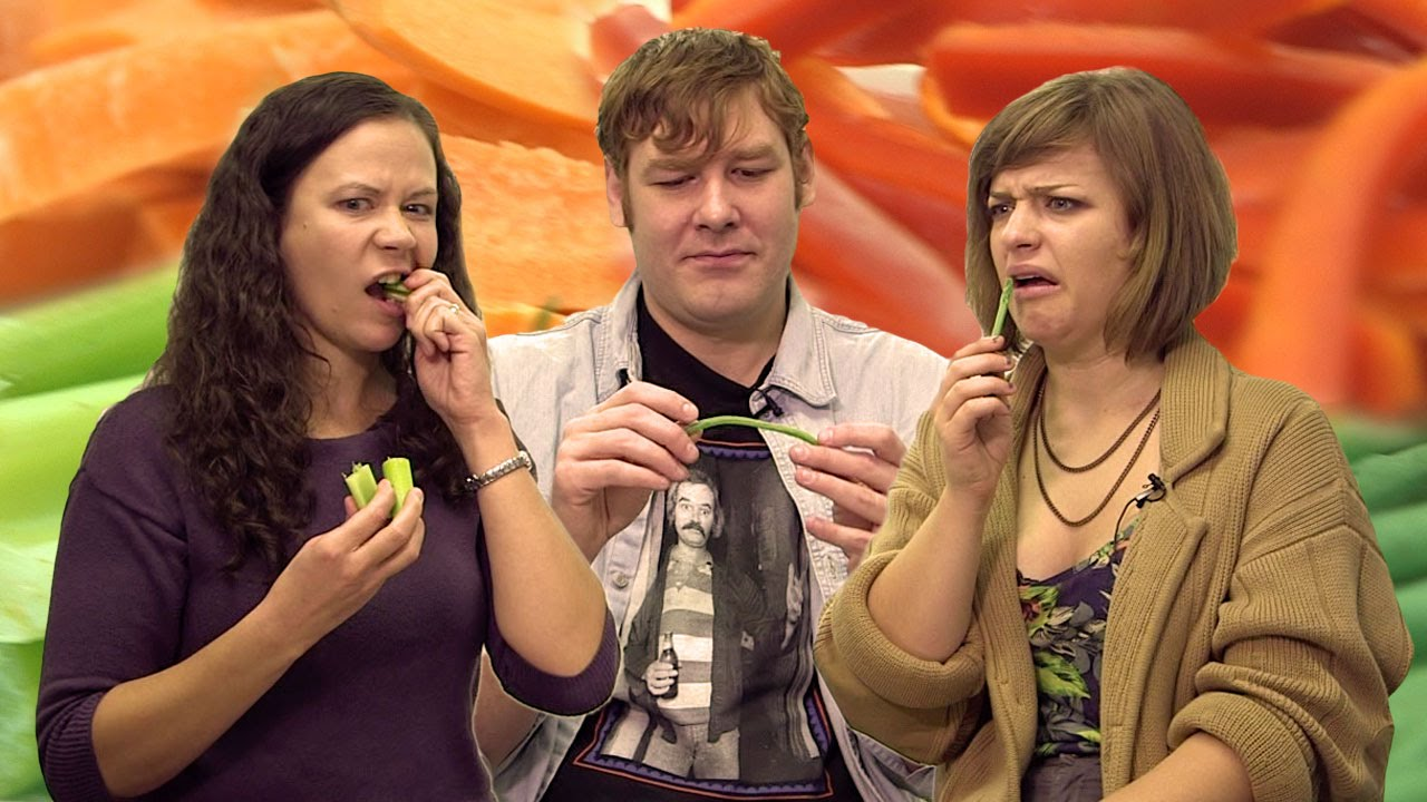 Americans Try Vegetables For The First Time
