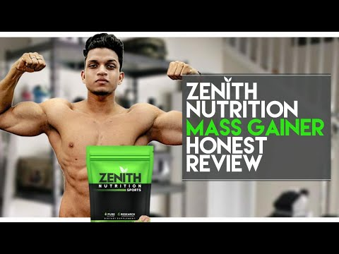 Zenith Nutrition Sports MASS GAINER Honest review | Good or Bad | Yash Anand