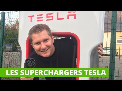 Les Superchargers Tesla