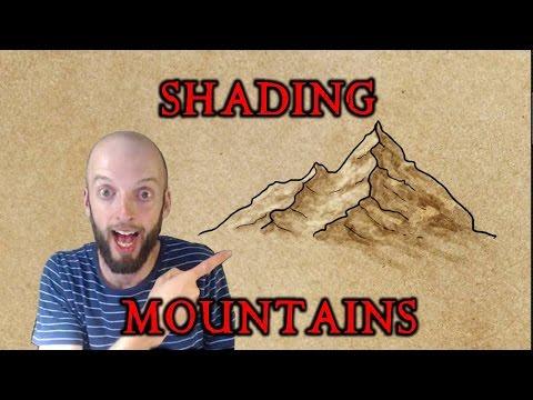 Shading Mountains Digitally