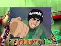 Naruto - Rock Lee Vs Gaara (SOLO BATALLA/LATINO)