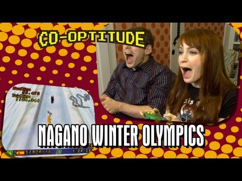 Felicia Day, Ryon Day and the Olympics - Co-Optitude Episode 11: Nagano Winter Olympics (видео)