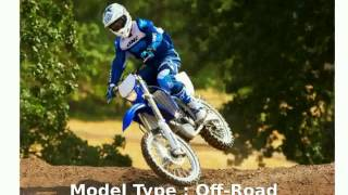 2. 2013 Yamaha WR 250F -  Features Specification