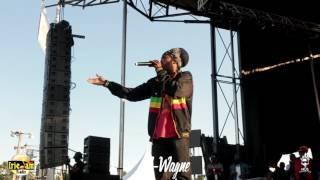 Sizzla Kalonji Performing Live At Reggae On The Ri