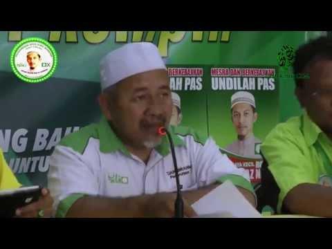 Sidang Media PRK Rompin : Isu Perlombongan Bijih Besi di Bukit Ibam