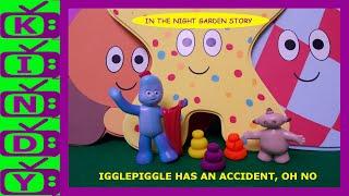 Igglepiggle's Accident. In The Night Garden Story. Makka Pakka's play-doh stones.