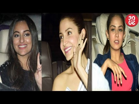 Anushka-Mira Attend Sonakshi's Noor's Screening |
