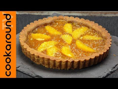 crostata con marmellata d'arance - la video ricetta