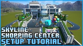 Skyline Shopping Center Steam Workshop Blueprint setup and pathing Tutorial! This guide shows you how to take both blueprints and use the translation widget ...