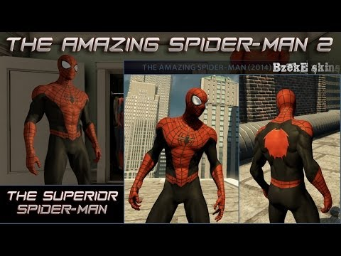 Скины новый человек паук 2