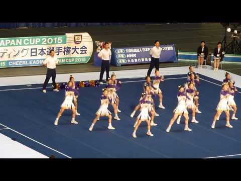 優勝 梅花中学校 Jr.RAIDERS JAPAN CUP 2015