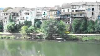 Villeneuve-sur-Lot France  city pictures gallery : Lot River in Villeneuve-sur-lot, France