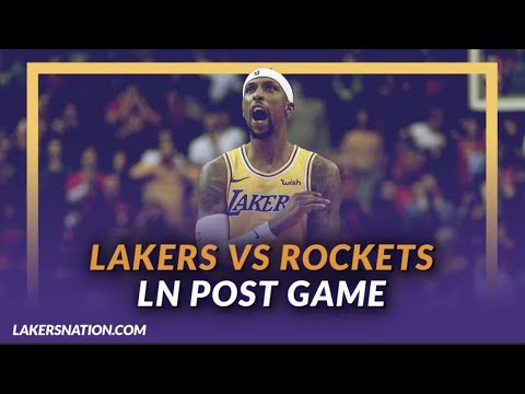 Video: Lakers Discussion: Lakers Lose to the Rockets, Lonzo Ball Ankle Injury, Kuzma 20 Pts in First