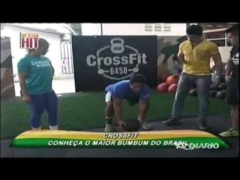 Arena Hit 08-06-14 - Magda França numa aula de CrossFit