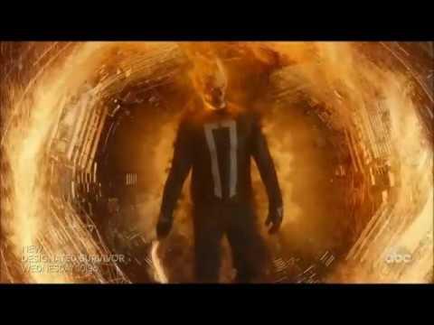 Ghost Rider Scenes (Agents of S.H.I.E.L.D. S4 21-22)