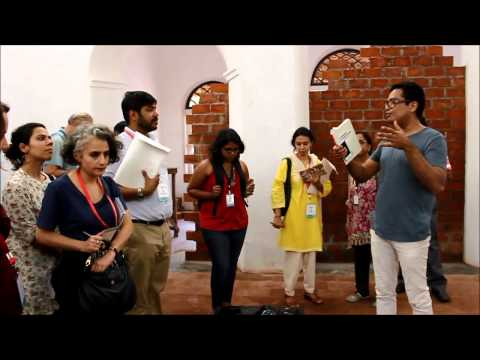 Kochi Muziris Biennale 2014 Curators Walk with Jitish Kallat