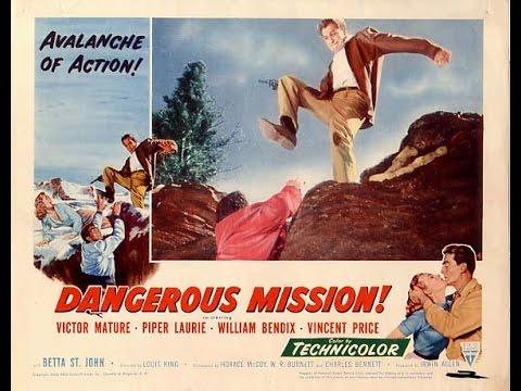 The Fantastic Films of Vincent Price #30 - Dangerous Mission