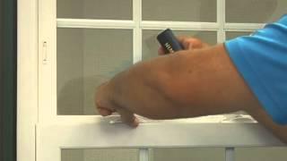 Atrium Window Lock Replacement Instructions