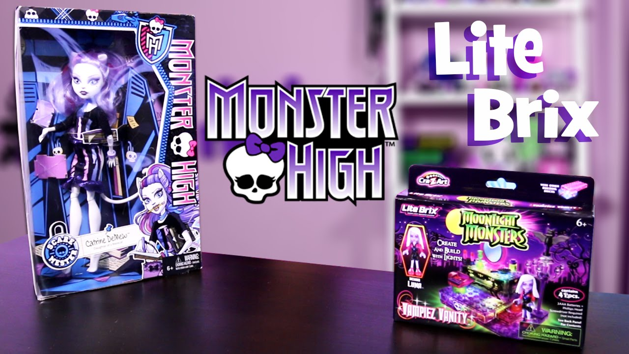 Monster High & Moonlight Monsters Lite Brix!