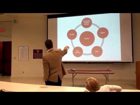 James Beebe, Sr. IP Counsel At GE Oil And Gas — Jack Hatcher Entrepreneurship Seminar Fall 2015