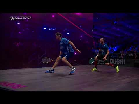 Squash tips: When to shorten the swing - Using deception in the front forehand