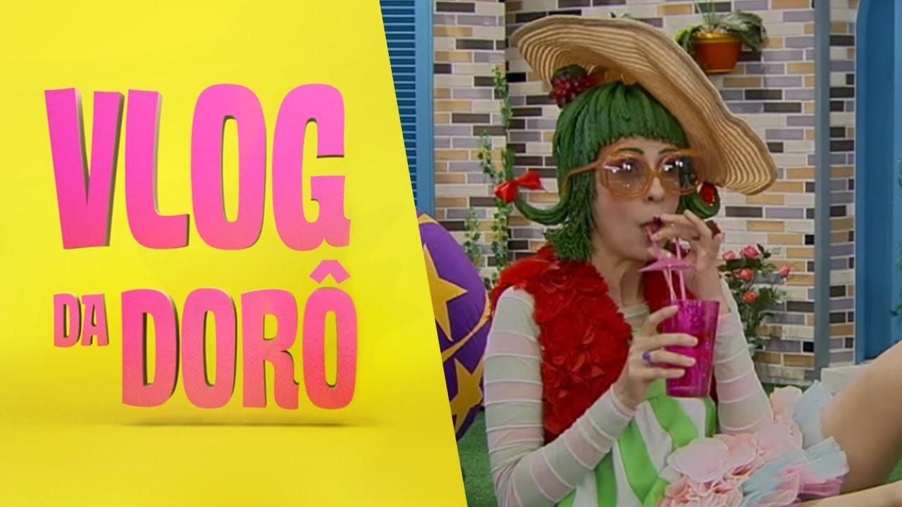 Descubra o que a Dorô faz nas férias   Vlog da Dorô